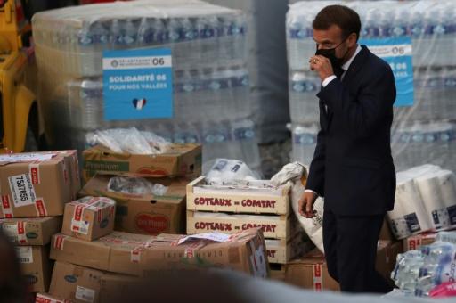 Breil-sur-Roya Macron