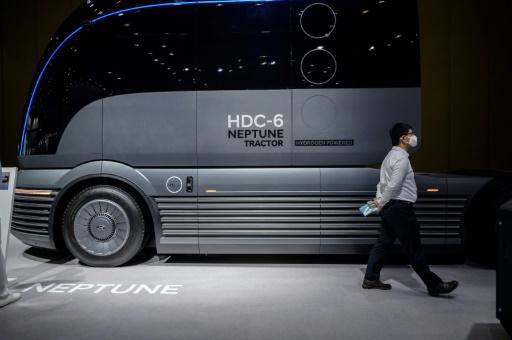 hydrogène camion