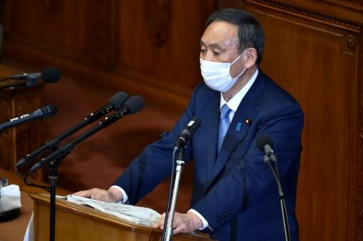 Yoshihide Suga Japon