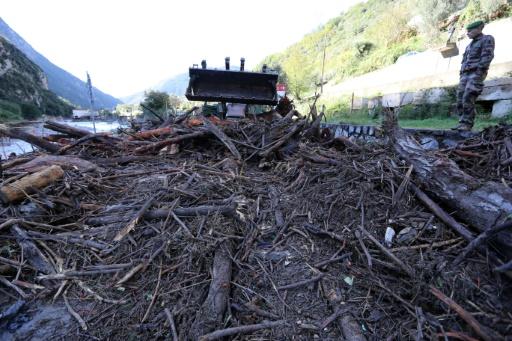 armée Alpes maritimes crues