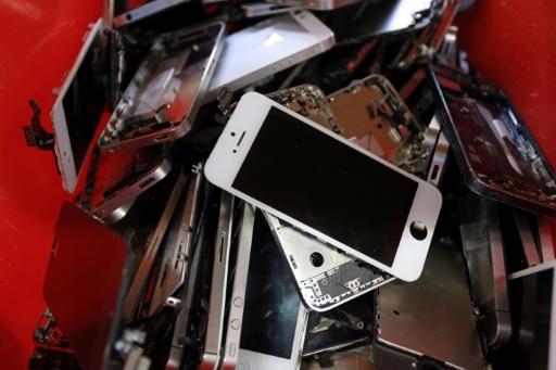 smartphones recyclage