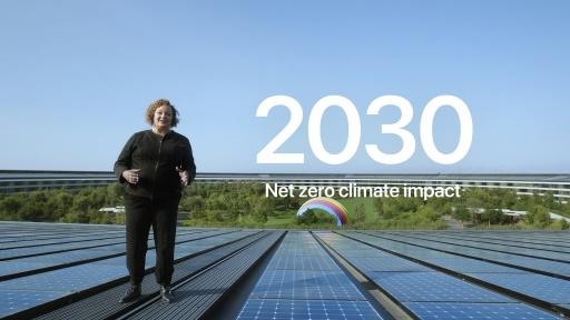 neutralité carbone Apple Californie