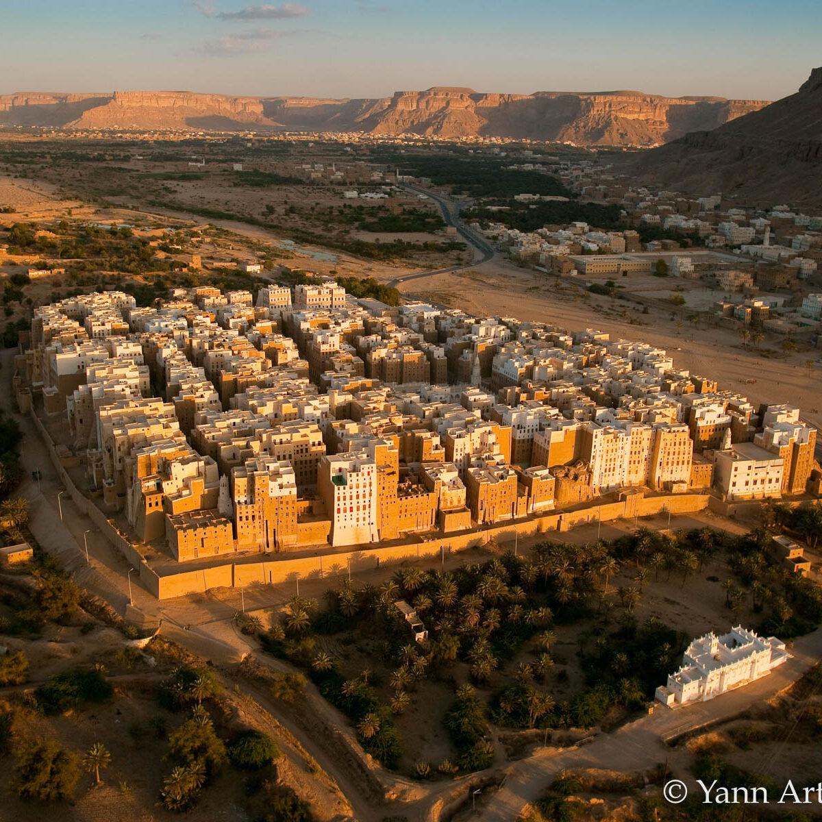Shibam Yémen Yann Arthus-Bertrand