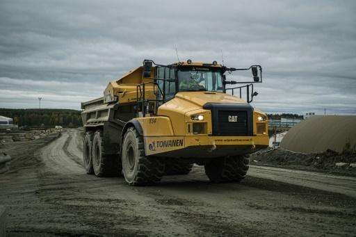 Finlande camion mines