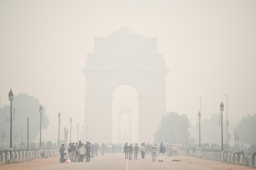 Inde pollution air New Delhi