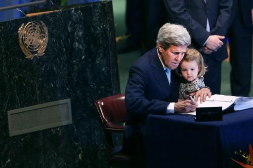 John Kerry accord Paris climat