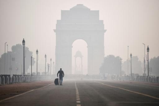 New Delhi pollution air