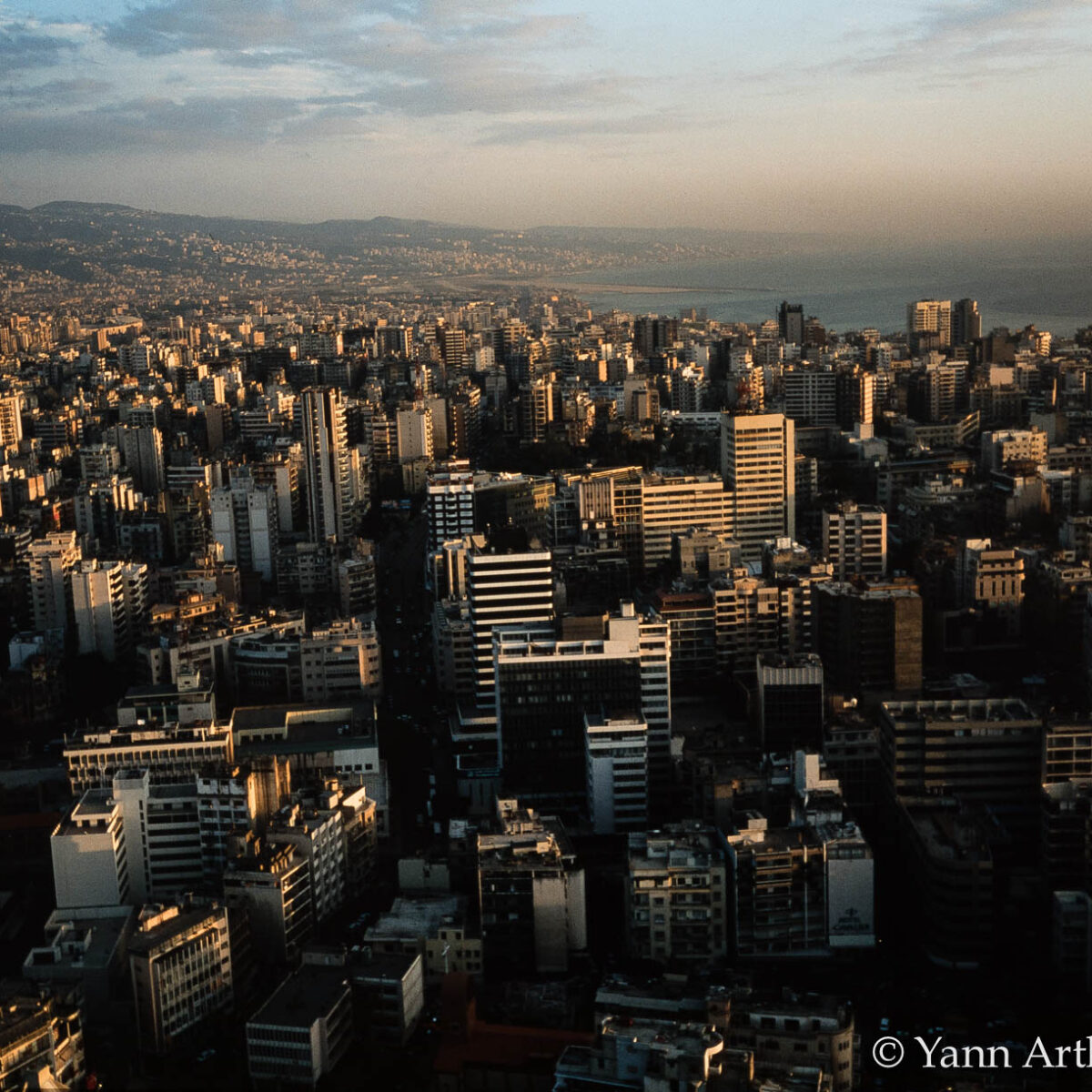 Beyrouth Liban Yann Arthus-Bertrand
