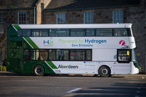 aberdeen bus hydrogène