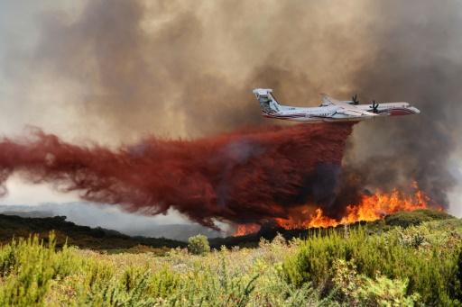 Réunion incendie avion