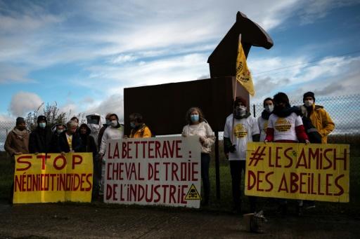 manifestation néonicotinoïdes France