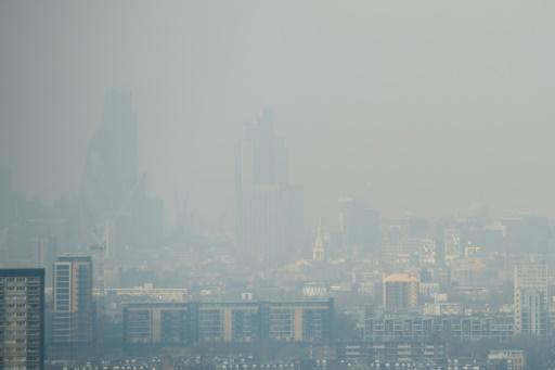 Londres pollution air