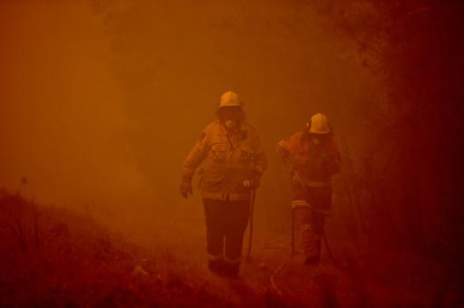 feux Australie Fraser Island