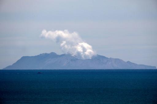 éruption volcan White Island Nouvelle-Zélande