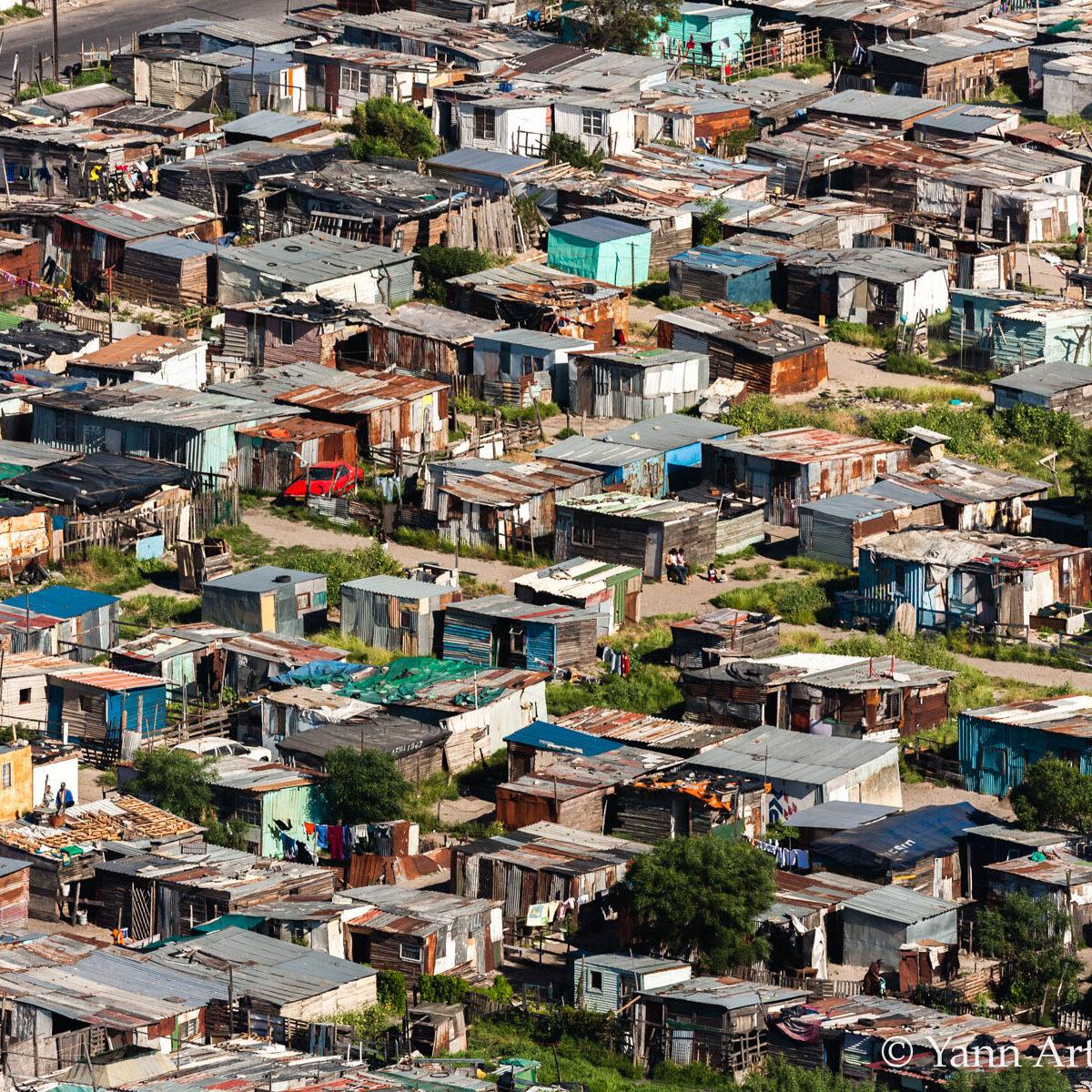 bidonville Afrique Sud YAB