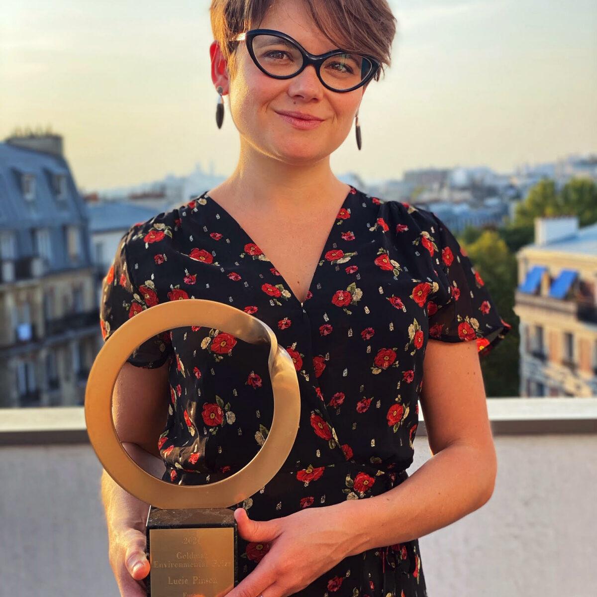 Lucie Pinson prix Goldman