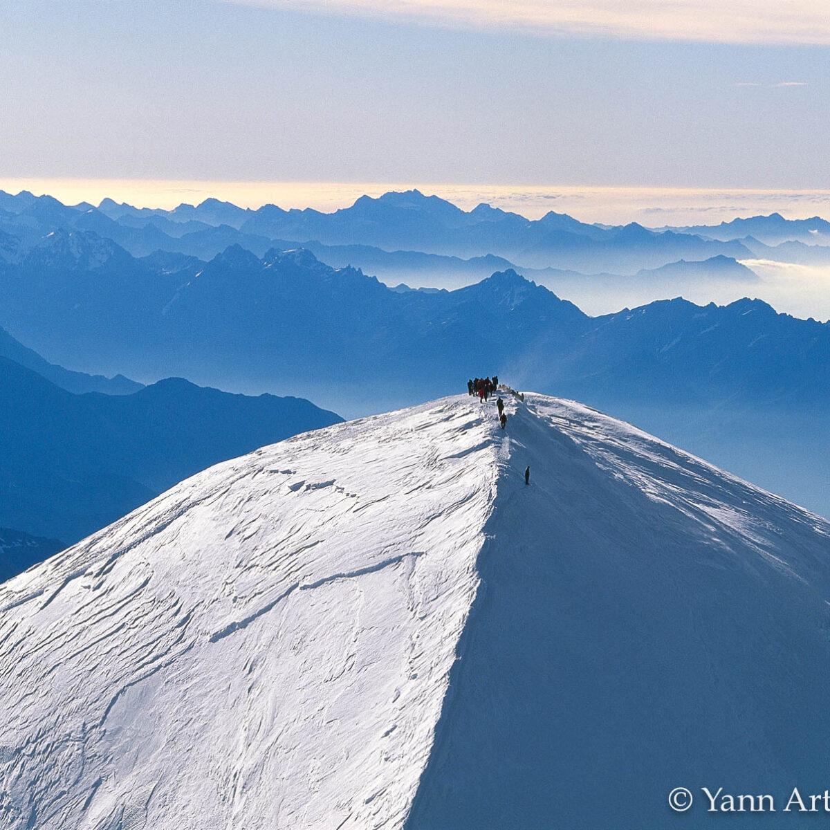 Mont-Blanc alpinistes France