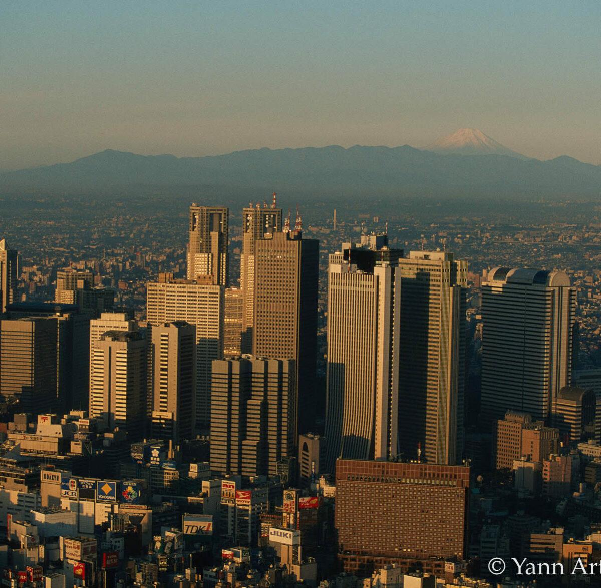 Tokyo centre affaires Japon
