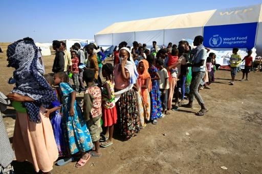 camp réfugiés Soudan