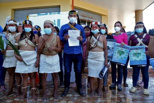 Waorani justice Equateur Amazonie