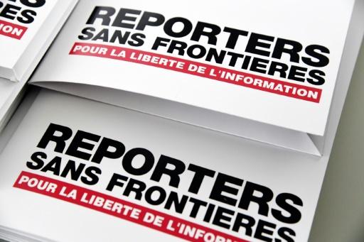 rsf reporters sans frontieres journalistes tués en 2020