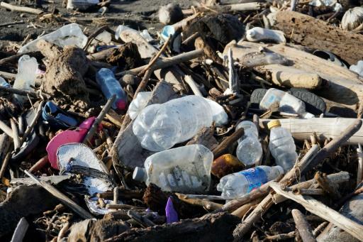 déchets plage Guatemala