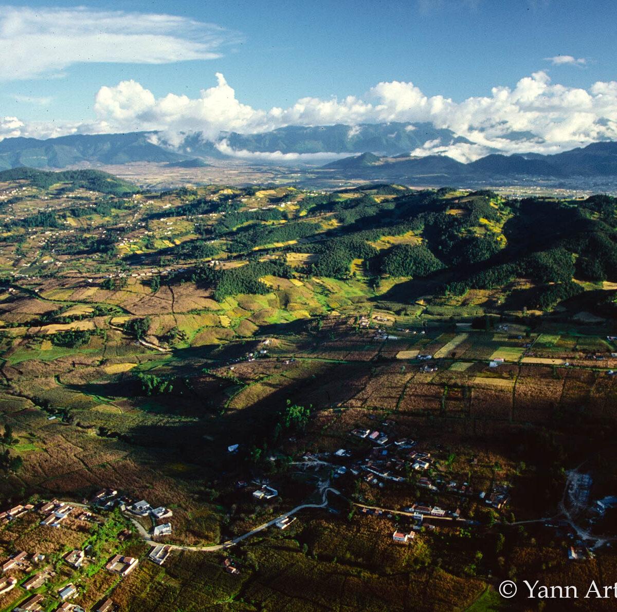 paysage agricole Guatemala