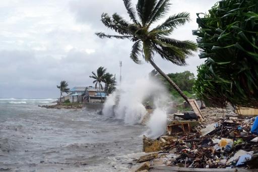 tempête îles Marshall