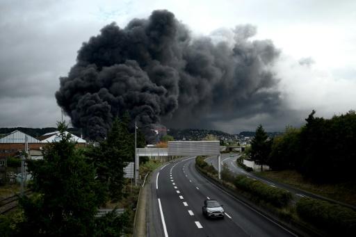 usine Lubrizol incendie
