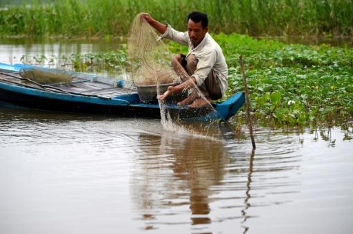 pêcheur Cambodge