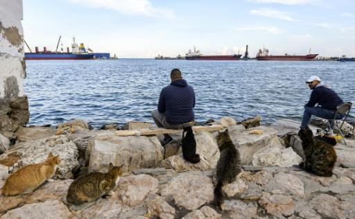 pêcheurs Tunisie port