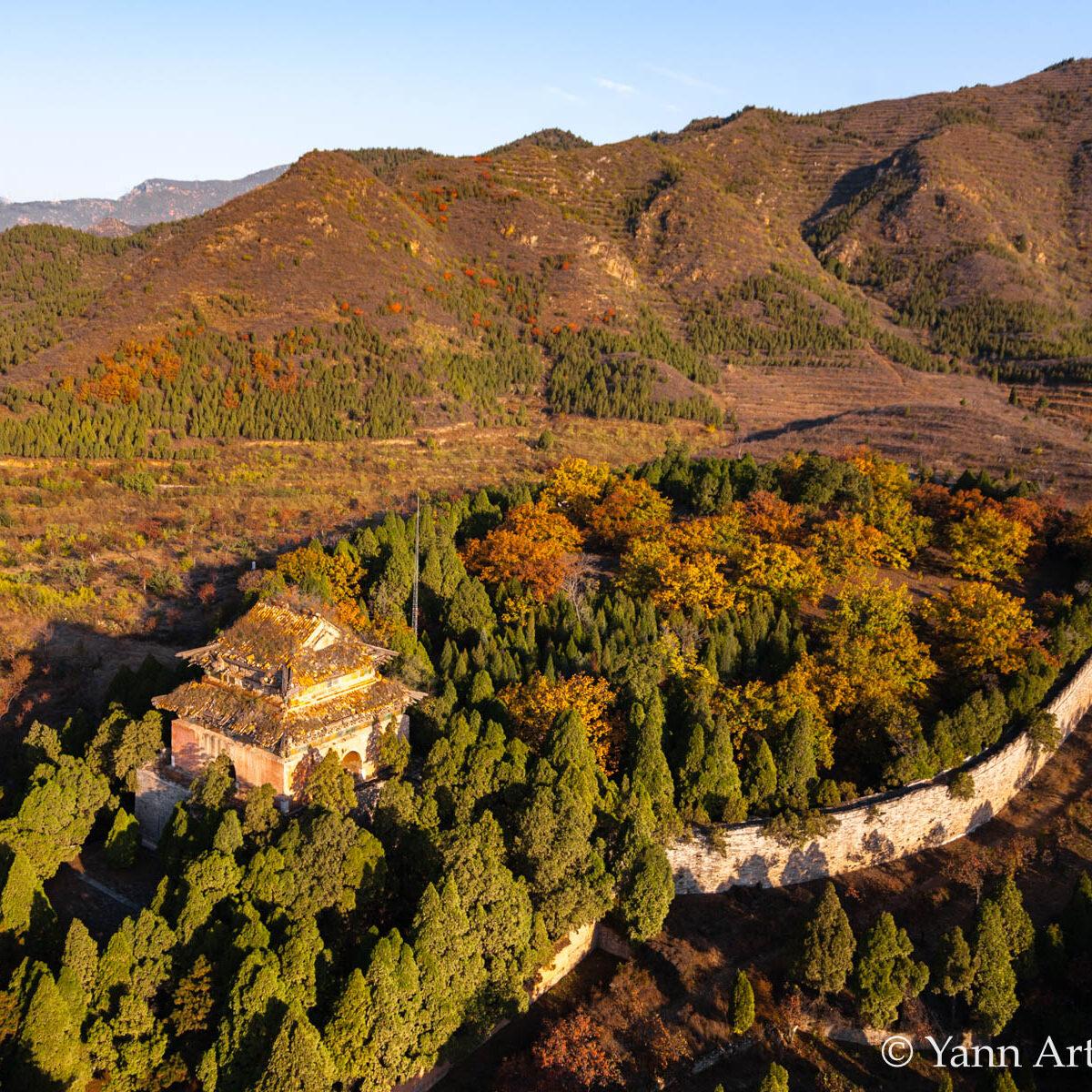 Chine forêt montagnes YAB