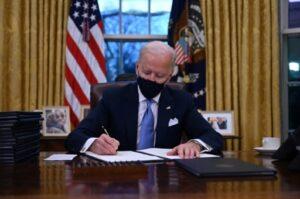 Biden Etats-Unis décrets