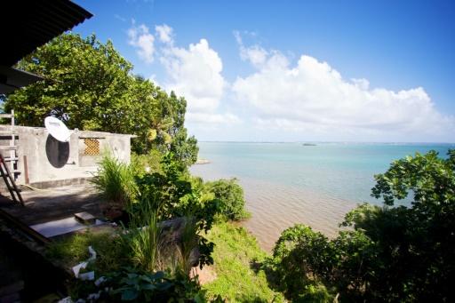 Guadeloupe océan érosion côtière