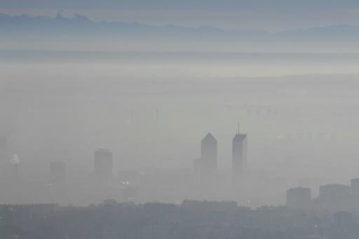pollution air Lyon