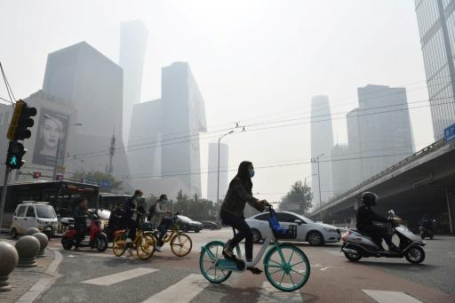 Pékin pollution air