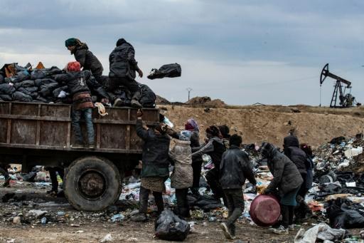 Syrie pauvreté déchets
