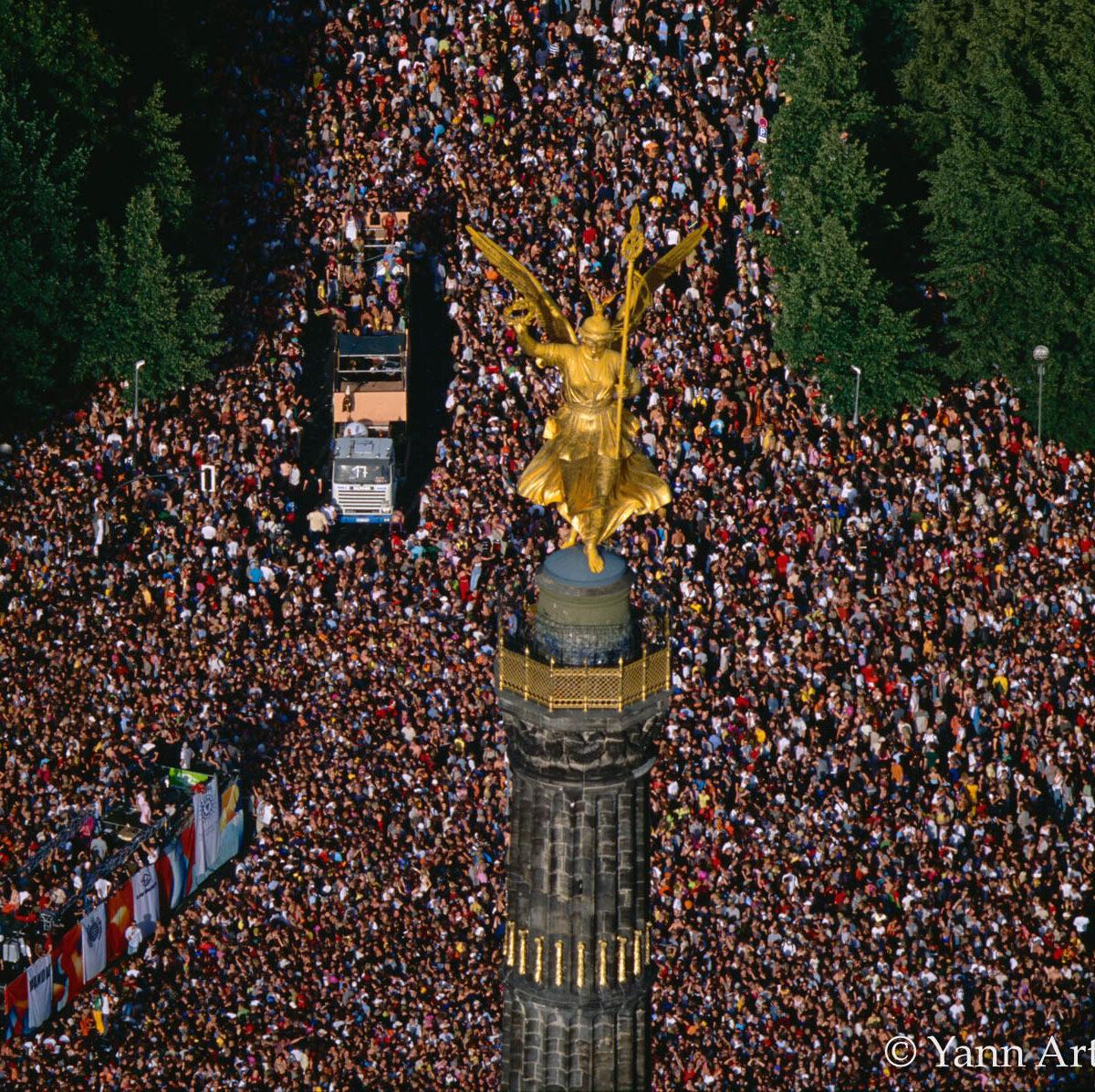 love parade Berlin Allemagne