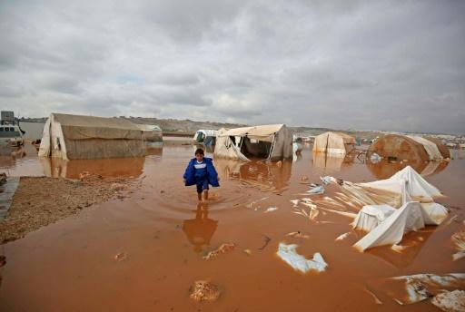 camp réfugiés Syrie