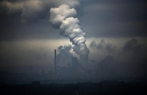 usine fumée