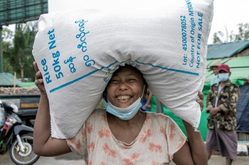 birmanie faim