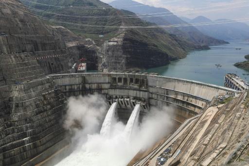 barrage hydroéléctrique chine