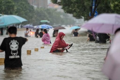 chine inondations