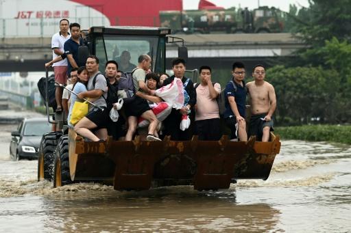 chine bilan inondations