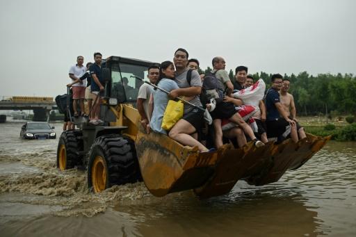 chine évacuation inondations
