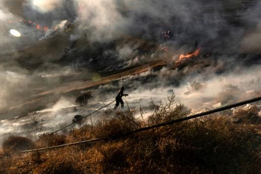 chypre incendie pompier sous contrôle