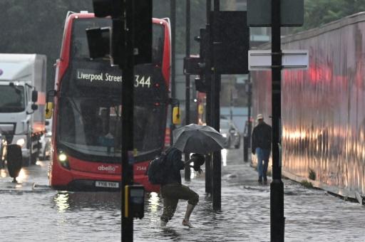 londres inondations