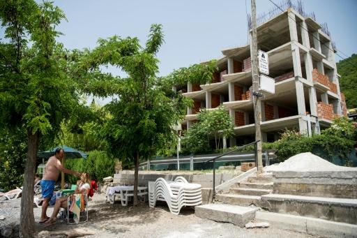 Macédoine hotel construction