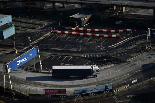 Royaume Uni camions polluants