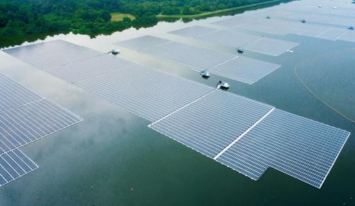 Singapour centrale solaire